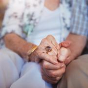coppia di anziani assistenza domiciliare Roma
