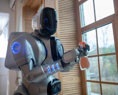 badante robot aes domicilio Roma